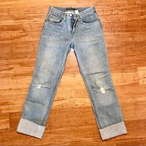 Marc Jacobs Rolled Distressed Jeans